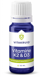 Vitakruid Vitamine D3 & K2 - 10ml
