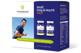 Vitakruid Multi dag & nacht man