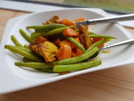 Zoet aardappel salade (lunch)