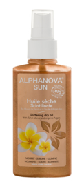 ALPHANOVA SUN BIO GLITTERING DRY OIL SPRAY 125ml