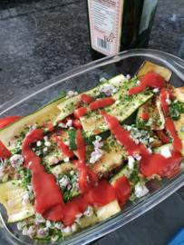 Groenten lasagne vegetarisch recept