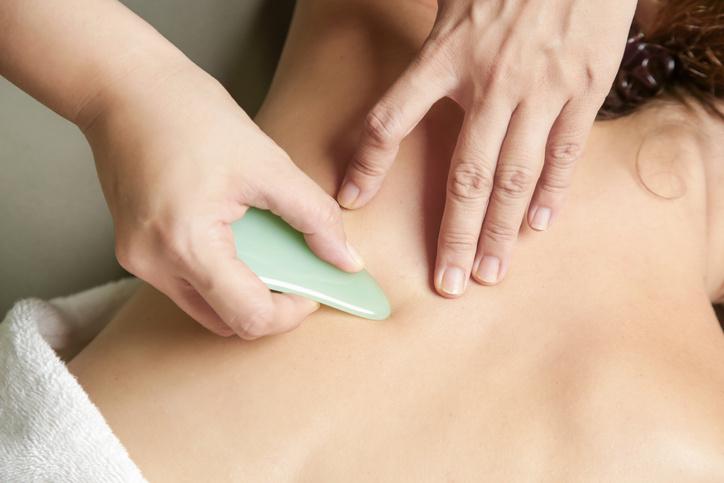 Guasha Jade - Massage schraper lichaam
