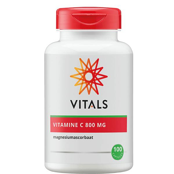 Vitals VITAMINE C CAPSULES 800mg vitamine c + magnesium