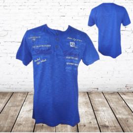 t-shirt Stilo verso helder blauw