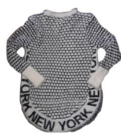 Lange trui New York creme 110/116