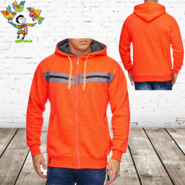 heren vest oranje XL
