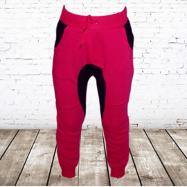 Roze joggingbroek