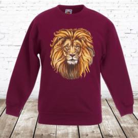 Sweater met leeuw
