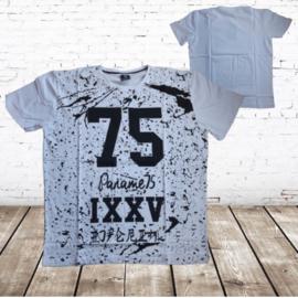 Heren shirt wit 75