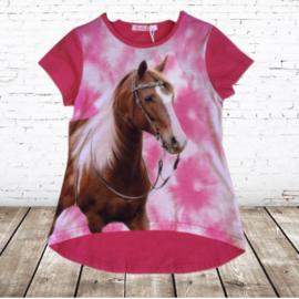 T-shirt met paard J05