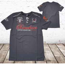 Heren t-shirt Barcelona grijs