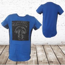 Jongens shirt classic blauw