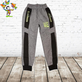 Joggingbroek jongens WE lgrijs 98/104