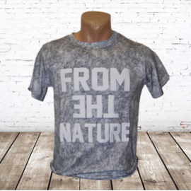 Jongens T-shirt Nature grijs