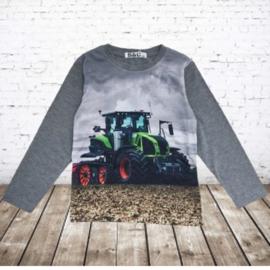 Trekker shirt Claas grijs H155
