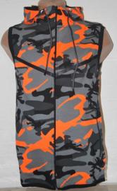 bodywarmer army oranje