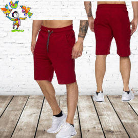 Heren short Cabin rood 983