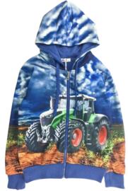 Jongensvest met tractor H78
