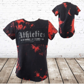 Shirt athletics rood