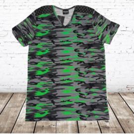 Shirt Army flour groen XXL