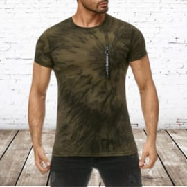 T-shirt heren Batic groen