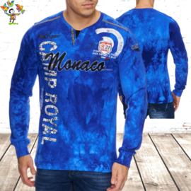 Sweater heren Monaco blauw M