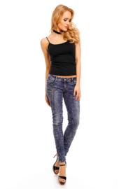 spijkerbroek dames blue D6030
