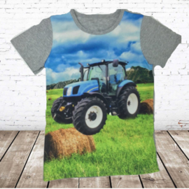 T-shirt met New Holland JM008