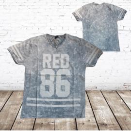 Heren t-shirt 86 grijs