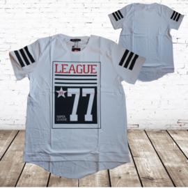 Heren t-shirt League wit