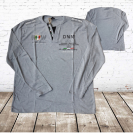Heren shirt DNM Style grijs maat 5XL