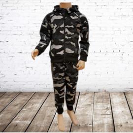 Camouflage pak zwart