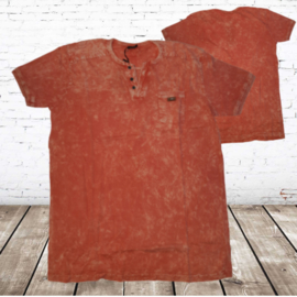 Heren t-shirt violento oranje