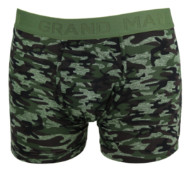Boxershort heren Grand man army 3 pak
