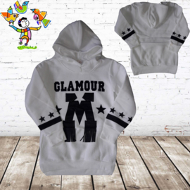 Sweater Glamour creme 122/128