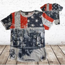 Heren t-shirt American stars