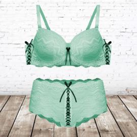 FINE WOMAN® Cup D - D113 Beha Set mint