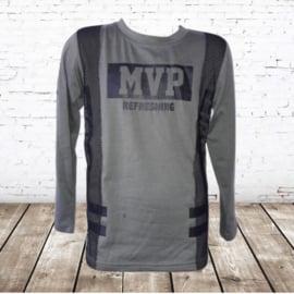 Jongens longsleeve MVP groen 98/104