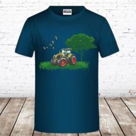 Trekker shirt Claas Petrol