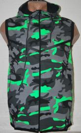 bodywarmer army groen