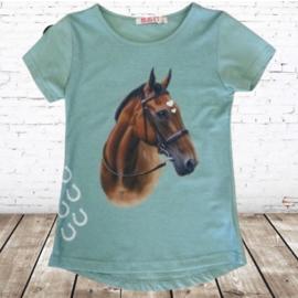 Paarden shirt mint