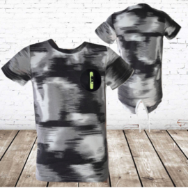 T-shirt S&C  wit M132