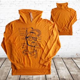 Oranje jongens longsleeve man