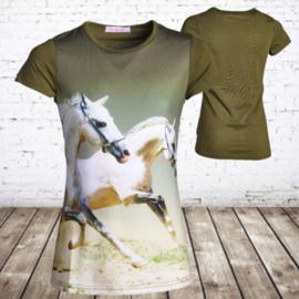 T shirt met paard J13