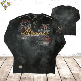 Sweatshirt heren monaco 1 zwart