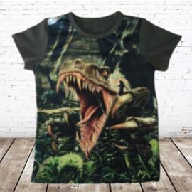Dino shirt groen JM806