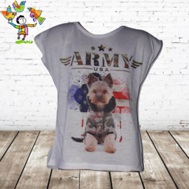T-shirt Army dog 6