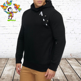 Sweater heren Cabin zwart L