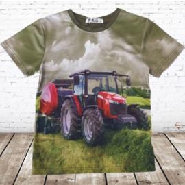 T-shirt met Case trekker