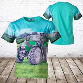 T-shirt met Deutz  trekker h100